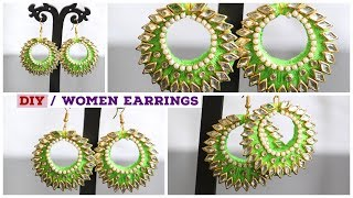 Earrings for women / #DIY Women Earrings Latest Model