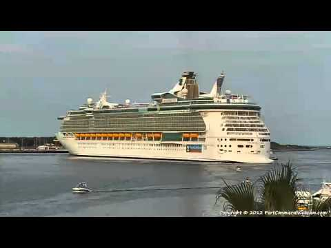 Freedom of the Seas Medical Emergency Port Canaveral Part 2 9-2-2012