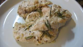 Lemon Garlic Rosemary Chicken