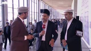 Interview Jalsa Afsar Salana and Afsar Jalsa Gah - Jalsa Salana Germany 2015