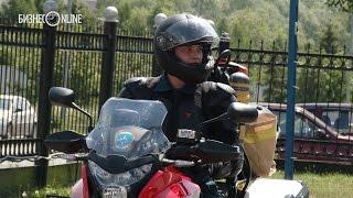 У казанских спасателей МЧС появились пожарные мотоциклы