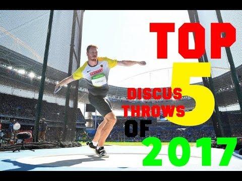 Top 5 Men's Discus throws of 2017!