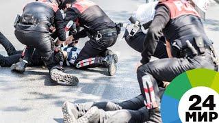 Газ и водометы: В Стамбуле разогнали протестующих строителей аэропорта - МИР 24