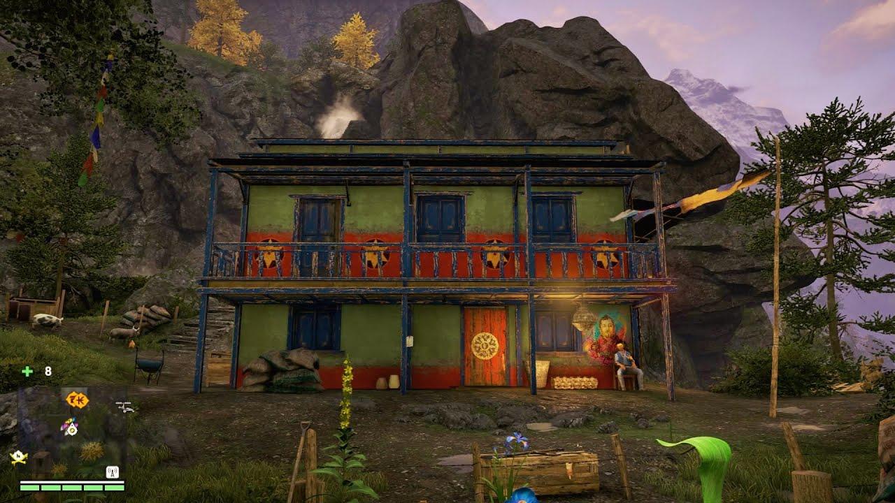 far cry 4 ajay house location