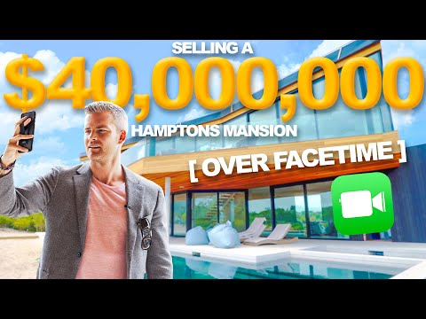 Selling a $40 Million Mansion Over Facetime | Ryan Serhant Vlog #81