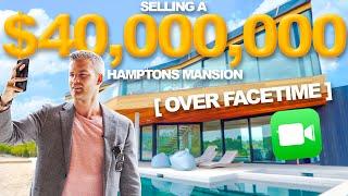 Selling a $40 Million Mansion Over Facetime   Ryan Serhant Vlog #81