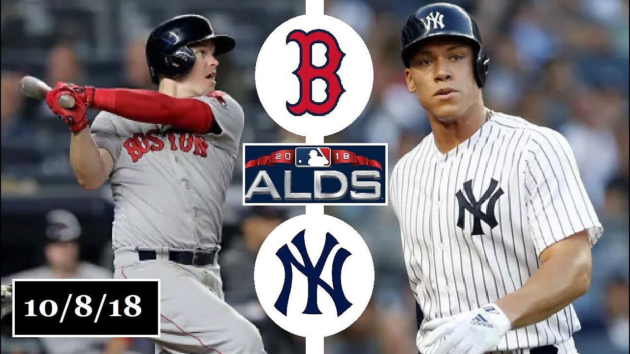 Boston Red Sox Vs New York Yankees Highlights Alds Game  2018