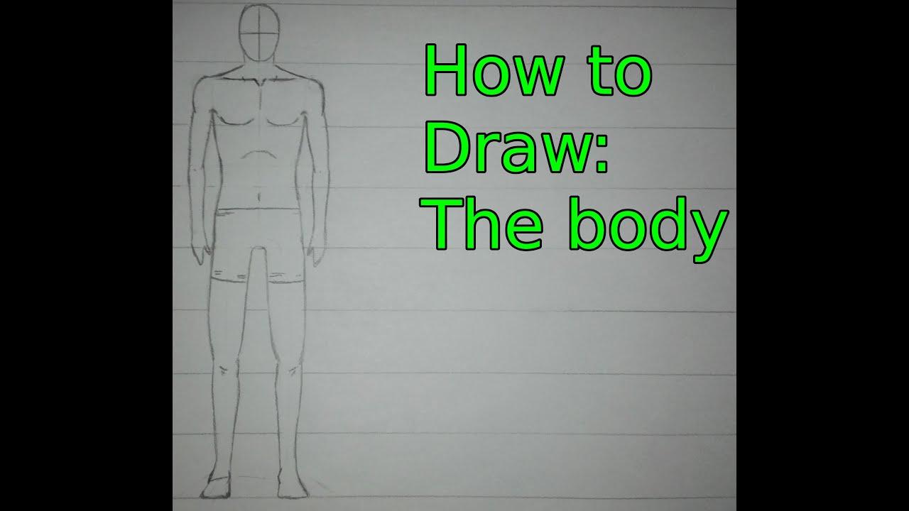 Manga-Tutorial: Der Körper │How to Draw: The body - YouTube