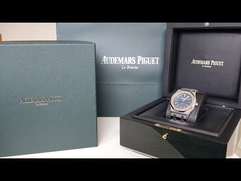 "4K Review: Audemars Piguet Royal Oak 15202st ""Jumbo"" Unboxing 2018"
