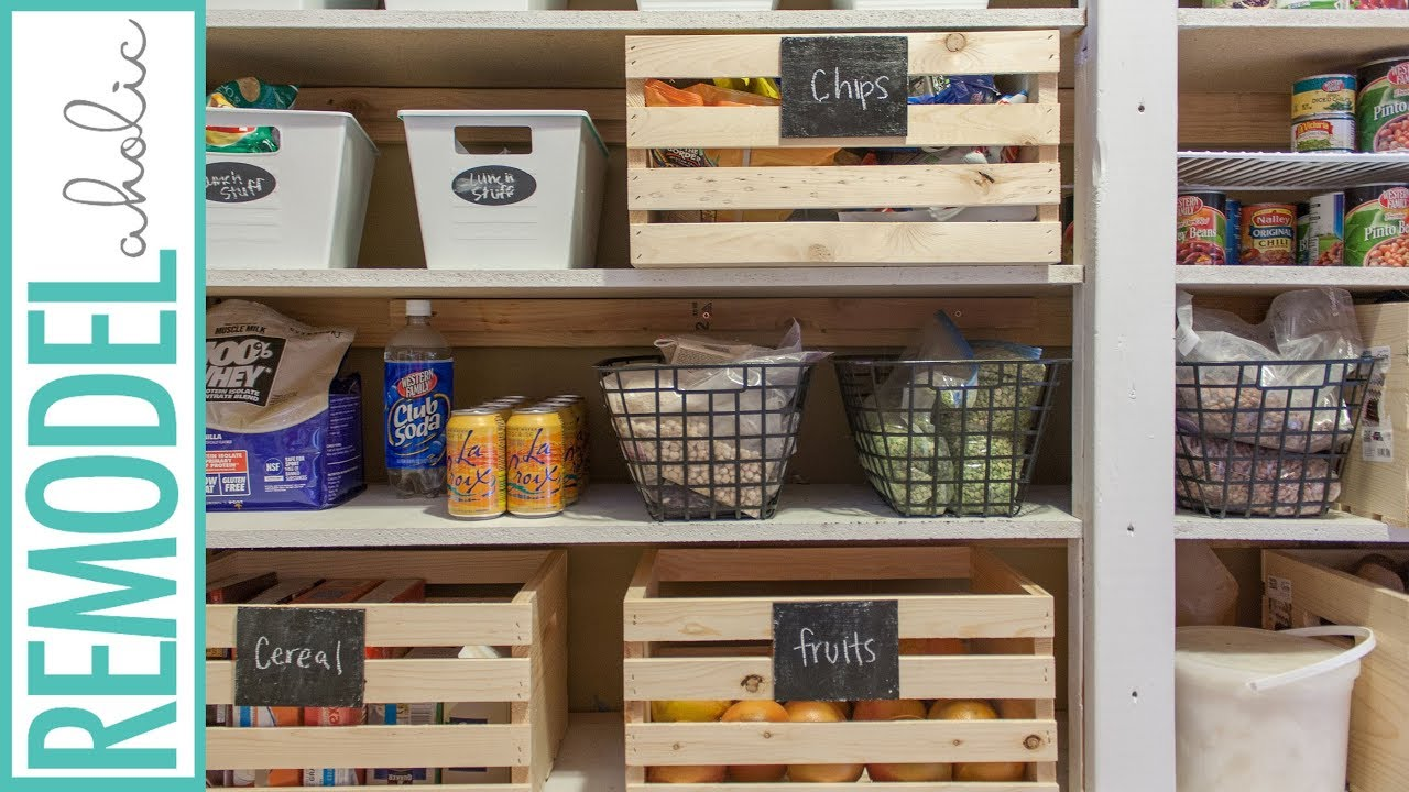 Pantry Organization Dollar Store Pantry Organization Organize A Large Pantry On A Budget