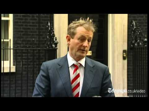 Irish Prime Minister Enda Kenny: Anglo-Irish relations are better than ever