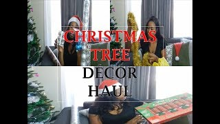 CHRISTMAS DECORATIONS HAUL | TREE DECORATIONS | CHRISTMAS BUYS at Shoprite 2018