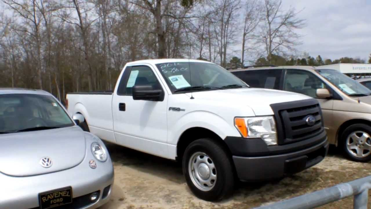 2010 ford f 150 xl regular cab review charleston truck videos for sale ravenel ford youtube. Black Bedroom Furniture Sets. Home Design Ideas