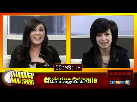 Christina Grimmie - 1 minute hot seat (magyar felirat) thumbnail