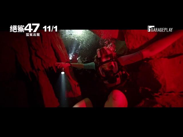 今年最「鯊」之作【絕鯊47:猛鯊出籠】11月1日 死裡逃生