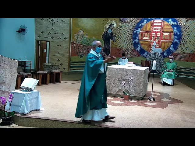 Santa Missa Dominical (24° Terceiro Domingo do Tempo Comum) - 12/09/2021