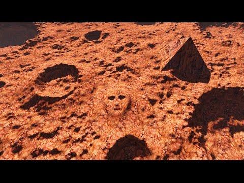 5 Mars Alien Mega Structures U Can Still See w NASA Mars ...