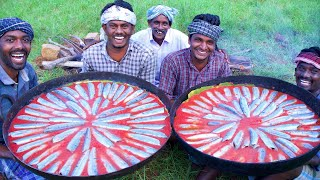 TURKEY Style FISH FRY Recipe Cooking In South India Village   Garfish Cooking With Tomato Sauce