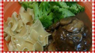 Classic Salisbury Steak With Mushroom Gravy Recipe ~ Noreen's Kitchen