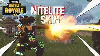 DUOS WIN WITH THE * NEW * NITELITE SKIN! -Fortnite Battle Royale #19 (DUO'S)
