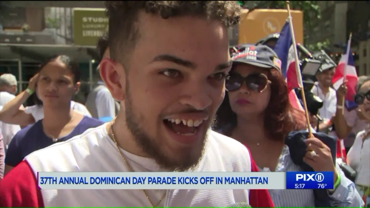 37th annual Dominican Day Parade kicks off in Manhattan