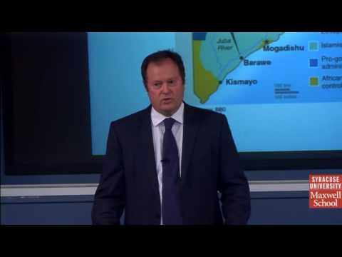"""""""State Building & Non State Armed Actors in Somalia,"""" with Ken Menkhaus"""
