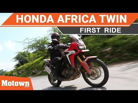CRF1000L Africa Twin First Ride