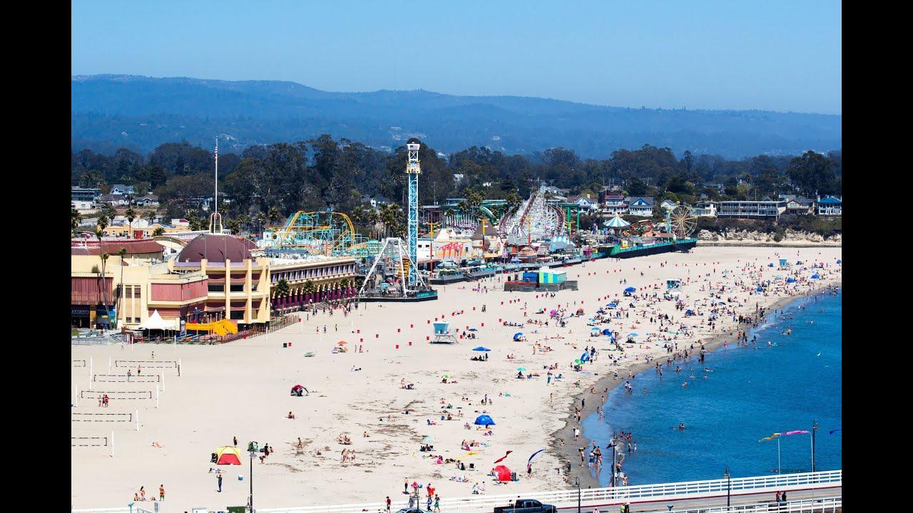 Come work at the beach! Santa Cruz Beach Boardwalk - YouTube