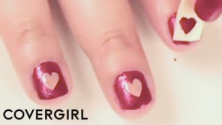 Nail Art: Valentine's Day Heart Nail Designs By Seventeen | COVERGIRL thumbnail