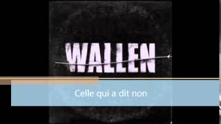 WALLEN - Celle qui a dit non