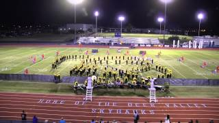 sandra day o connor high school marching band at the dvusd invitational oct 15 2013