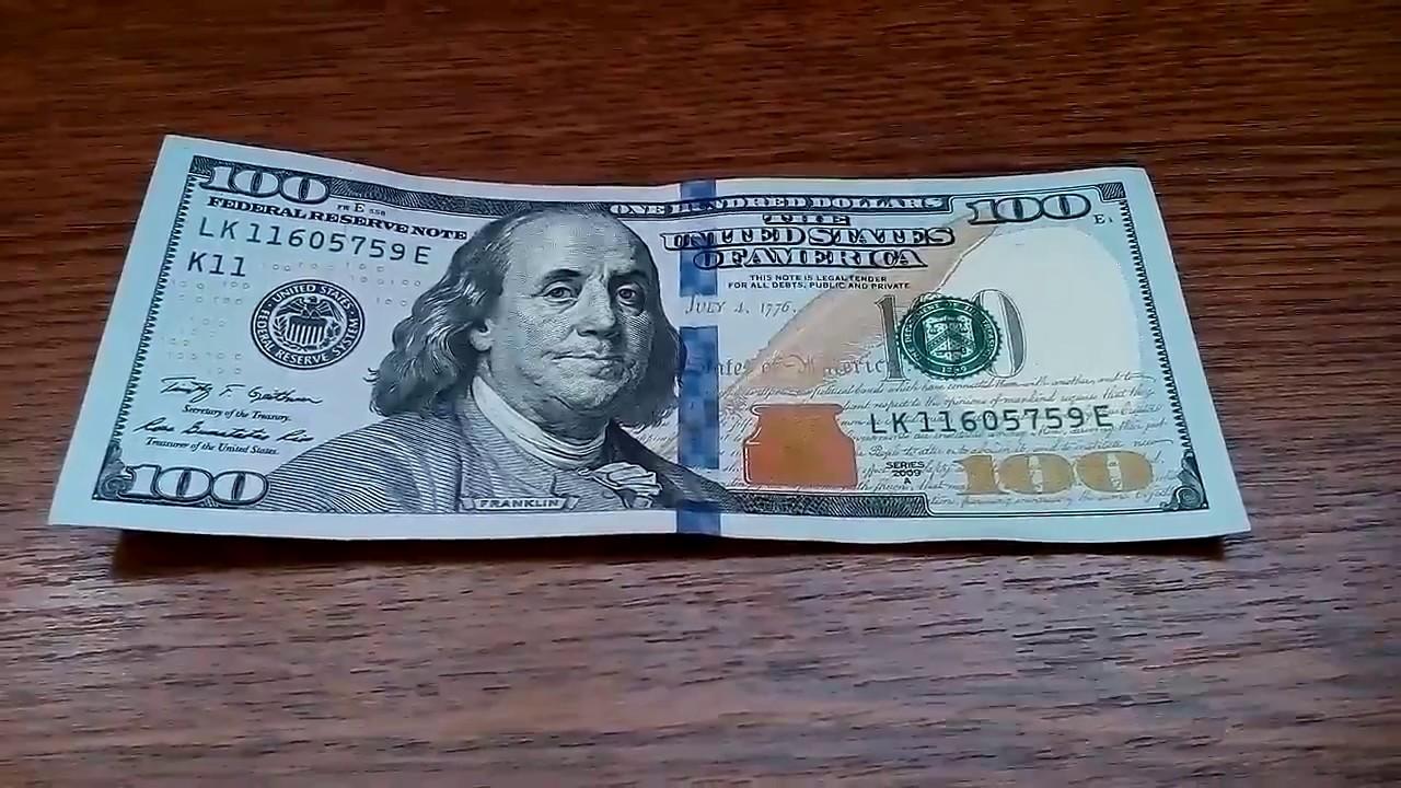 новые долларовые купюры фото художник, который исходил