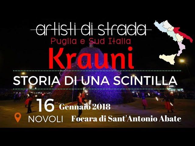 Focara 2018 - Krauni - Storia di una scintilla - Artisti di strada Puglia e Sud Italia