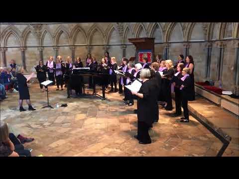 Di Voci Ladies Choir - Baba Yetu - Recital at Lincoln Cathedral