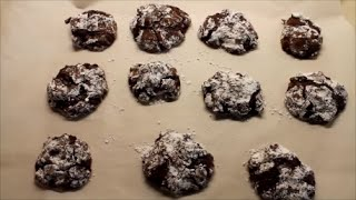 Easy Double Chocolate Chip Drop Cookies! \\ Lindsey October