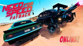 NO ONLINE O CHORO É LIVRE!! - NEED FOR SPEED PAYBACK