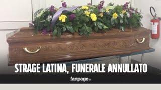 Strage Latina, insulti alla bara del carabiniere: annullati i funerali