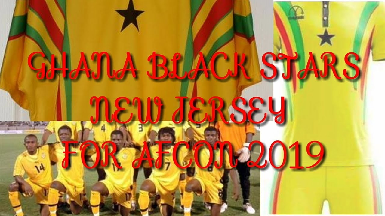 size 40 59492 f6ab3 WOOW!!! Ghana Black Stars New Jersey For AFCON 2019