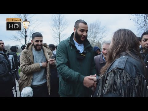 P3 - Atheists believe in Flying Horses!? Mohammed Hijab vs Atheist | Speakers Corner | Hyde Park