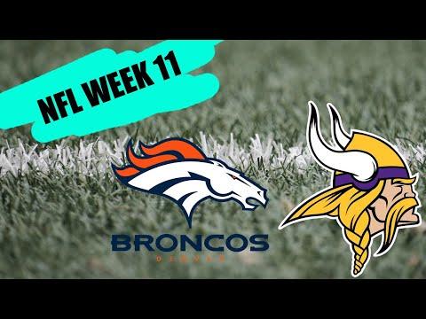 Denver Broncos Vs Minnesota Vikings