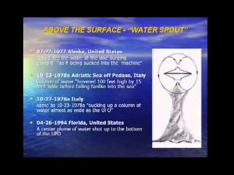 CARL FEINDT - Physical Influences of a UFO on Water