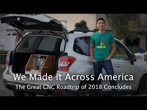 #MakingItAcrossAmerica: My NJ-to-CA Roadtrip w/ a CNC in the Trunk