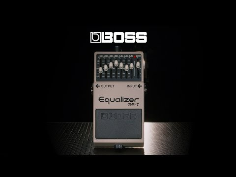 Boss GE-7 Equalizer Pedal | Gear4music demo