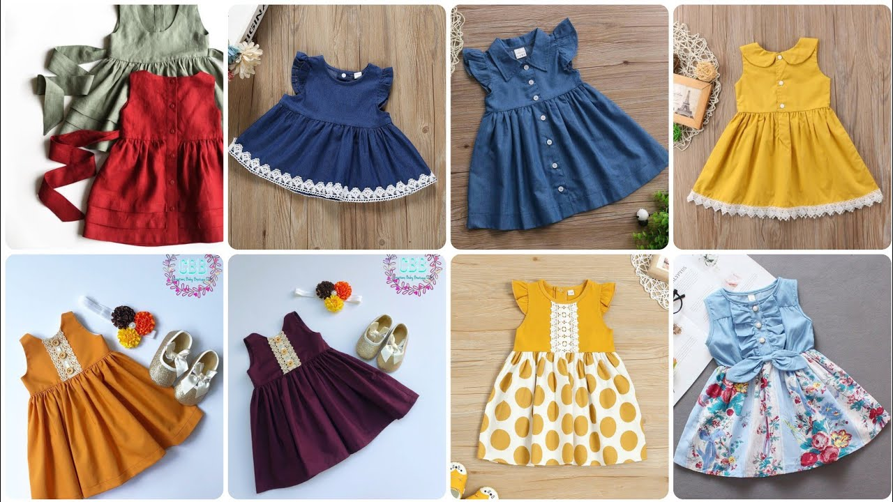 Little Kids Baby Frock Tunic Top Collection