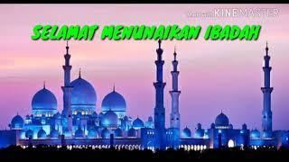 Sirene Tanda Waktu Imsak Bulan Suci Ramadhan