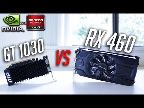 GT 1030 vs RX 460 | The $75 GPU Showdown!