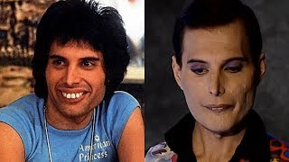 Freddie Mercury transformation from 1 to 45 years old