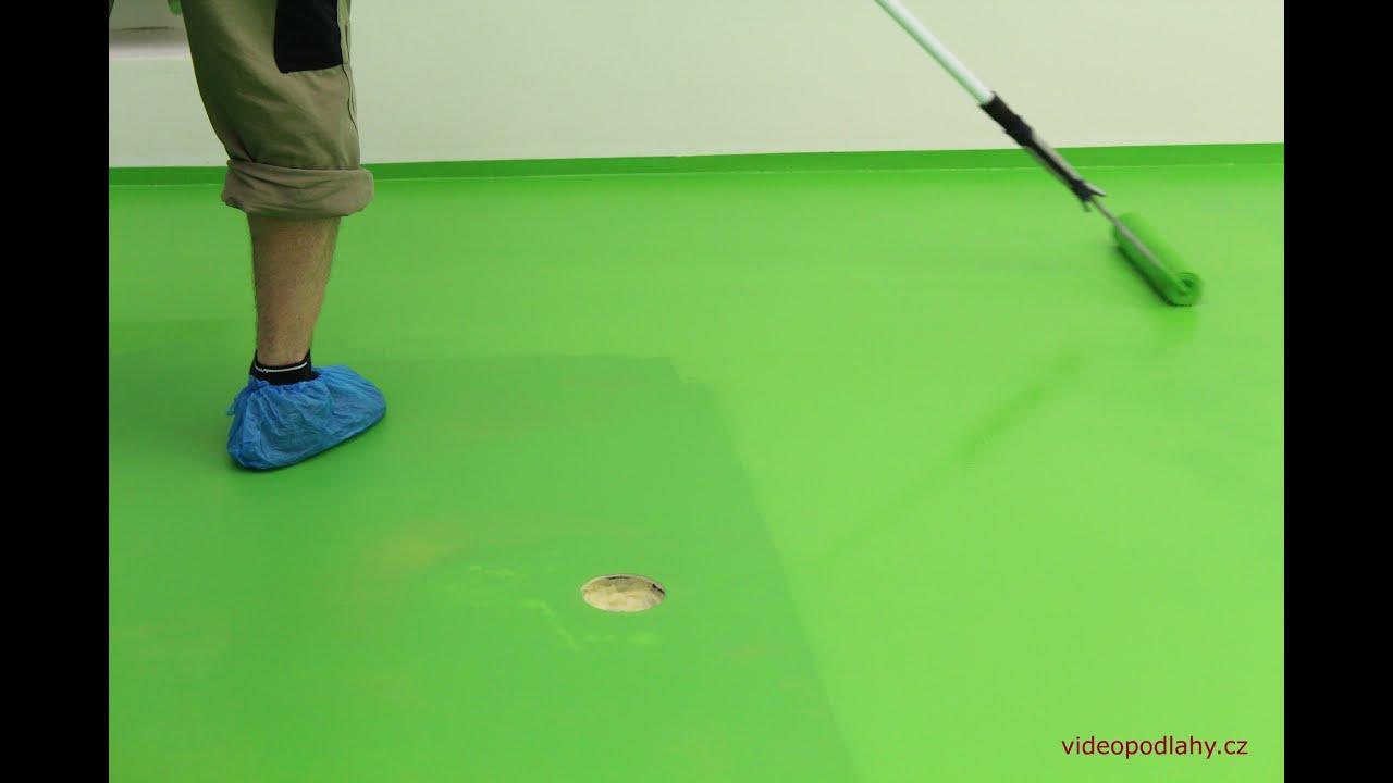 jak udlat ntr na beton pu color barevn ntr na podlahu podlahstv vobornk cheb - Beton Color
