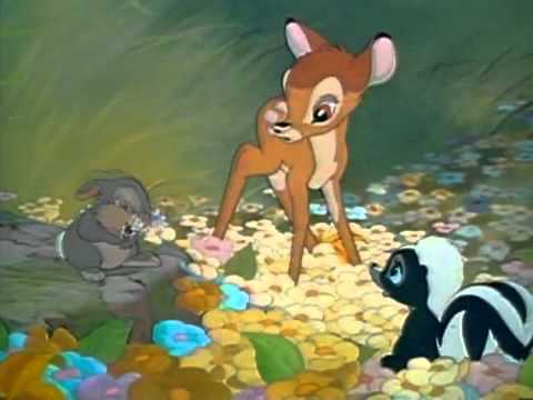 Bambi - that's not a flower - YouTube