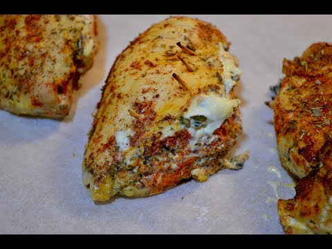 Chicken Breast Stuffed With Spinach And Cream Cheese